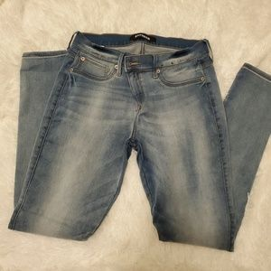 Express jeans- light wash- size 8R